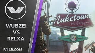 getlinkyoutube.com-Wubzei vs. Relxa | Black Ops 2 1v1