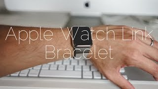 getlinkyoutube.com-Apple Watch Link Bracelet Unboxing and Sizing