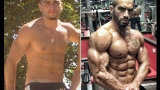 getlinkyoutube.com-Lazar Angelov's Before/After Body Transformation Video