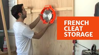 getlinkyoutube.com-106 - How to Build a French Cleat Storage System