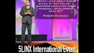 getlinkyoutube.com-Rich Dad's Robert Kiyosaki addresses 2014 5LINX Convention in Miami Beach, FL