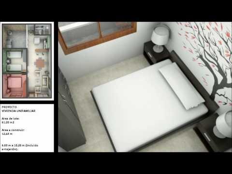 Planos de casas de un piso incluye fachadas modernas for Casa moderna minimalista interior 6m x 12 50m