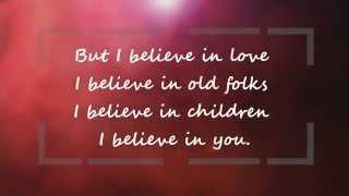 I believe in You-  Don Williams HD LYRICS