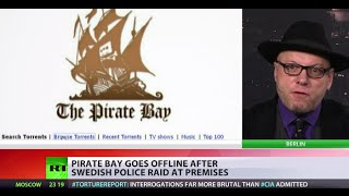 getlinkyoutube.com-'Each time police shut Pirate Bay down, we will multiply other servers'