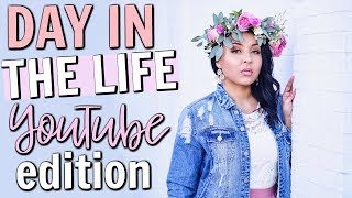 DAY IN THE LIFE OF A YOUTUBER 2018 | WHAT ITS REALLY LIKE BEING A SOCIAL INFLUENCER | Page Danielle