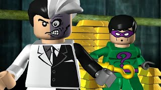 getlinkyoutube.com-LEGO Batman The Videogame - All Villain Boss Fights (All 15 Hero Mission Boss Fights)
