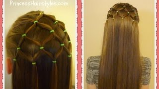 getlinkyoutube.com-Elastic Tree Hairstyle, Christmas Hairstyles