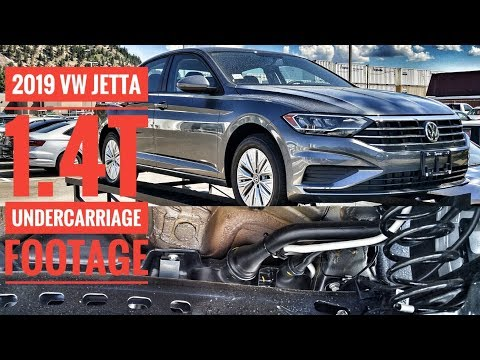 2019 VW Jetta 1.4T Comfortline 6 Speed - Undercarriage Footage