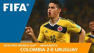 BRAZIL v COLOMBIA (2:1) - 2014 FIFA World Cup™ width=