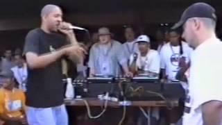 getlinkyoutube.com-Eminem vs Juice rare rap battle freestyle '97