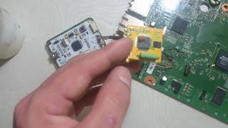 getlinkyoutube.com-Desbloqueio RGH placa trinity xbox 360