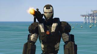getlinkyoutube.com-ULTIMATE WAR MACHINE MOD! (GTA 5 Mods Funny Moments)