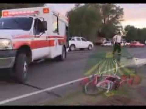 ACCIDENTE FATAL ENTRE MOTO Y BICICLETA