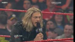 Edge Attacks Chris Jericho