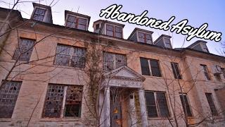 Exploring an Abandoned Asylum at Night | Heard Creepy Sounds | (Rosewood Asylum) -#83