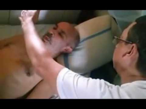 Hipnose Clinica com Paciente vitima de CA com uma das pernas amputadas e sem fala.