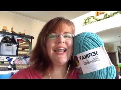 Bernat Mystery Stitch Along (video from Facebook Live video)