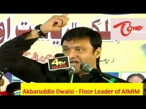 Akbaruddin Owaisi's hate speech at Nirmal, Adilabad Dist - Full Length Video -mVNuK5r3g0M