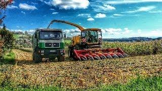 getlinkyoutube.com-Sachen gibt's: Beim Mais häckseln