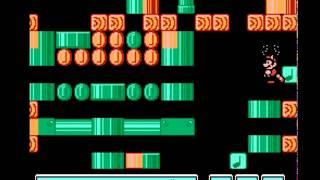 getlinkyoutube.com-Fail de como pasar Super Mario Bros 3 en 3 minutos (Glitch del Mundo 7)