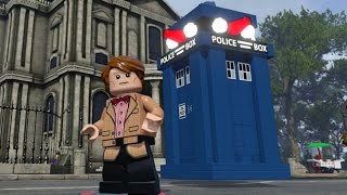 getlinkyoutube.com-LEGO Dimensions - TARDIS Fully Upgraded - All 3 Versions (Vehicle Showcase)