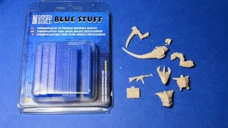 Blue Stuff/Oyumaru  - How to cheaply cast miniatures or plastic models - new version