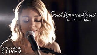 getlinkyoutube.com-Don't Wanna Know - Maroon 5 (Boyce Avenue ft. Sarah Hyland cover) on Spotify & iTunes