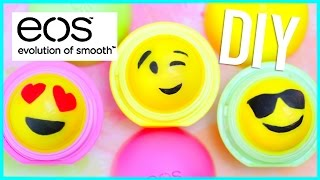 getlinkyoutube.com-DIY EMOJI EOS LIP BALM!! (Two Ways)