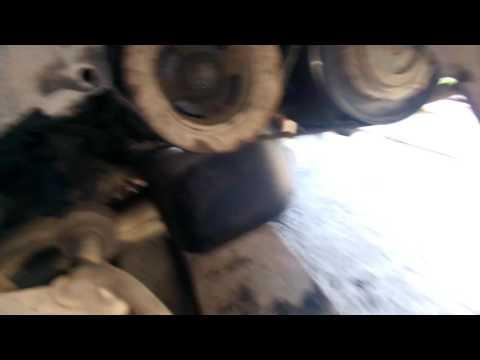 Ч 7 Замена сальников коленвала Тойота королла Спасио ае 111, двигатель 4а фе,4a-fe