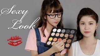 getlinkyoutube.com-Quynh Anh Shyn - Makeup with QA #1 x An Japan : SEXY LOOK !