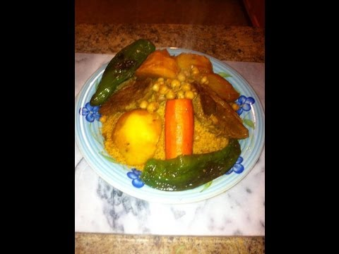 How to make Tunisian Couscous