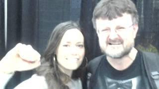 erich & summer glau  ON ON