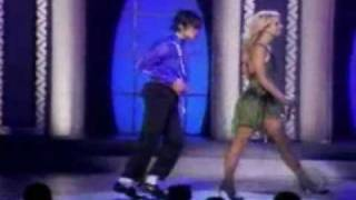 getlinkyoutube.com-Britney Spears ft. Michael Jackson The Way You Make Me Feel Live in Concert