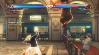 getlinkyoutube.com-Tekken Tag 2- King & Armor King combo exhibition #2