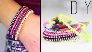 getlinkyoutube.com-DIY : Rhinestone wrap bracelet - bracelet strass / friendship bracelet with english subtitles