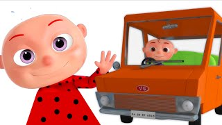 getlinkyoutube.com-Five Little Babies Driving a Car | 5 Little Babies | Nursery Rhymes & Kids Songs By Videogyan