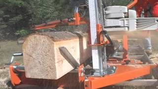 getlinkyoutube.com-PortaMill Portable Chainsaw Sawmill by Norwood Portable Sawmills