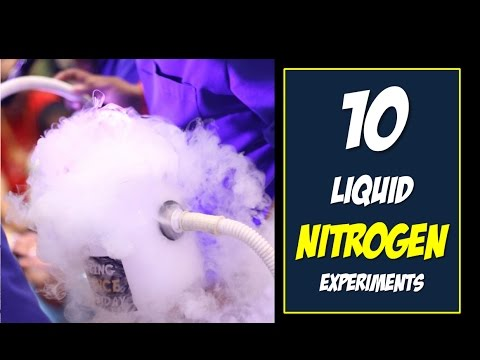 Top 10 Cool Liquid Nitrogen Experiments and Demonstrations
