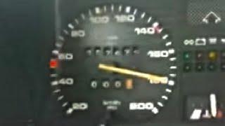 getlinkyoutube.com-Golf 2 GTI TDI 180 km/h , autoput Zenica-Sarajevo