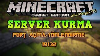 getlinkyoutube.com-Minecraft Pocket Edition Server Kurma | Port Açma-Yönlendirme