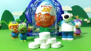 getlinkyoutube.com-킨더조이와 마법손수건 놀이 ★뽀로로 장난감 애니