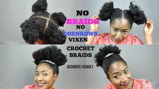getlinkyoutube.com-NO BRAIDS, NO CORNROWS VIXEN CROCHET  BRAIDS  || BEGINNER FRIENDLY
