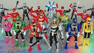 getlinkyoutube.com-Power Rangers Action Hero Review (Super Megaforce 5 inch Figures)