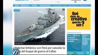 getlinkyoutube.com-Visión Siete: Perú no recibirá a una fragata de guerra británica