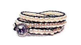 getlinkyoutube.com-DIY: wrap bracelet / Крученый браслет своими руками