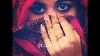 getlinkyoutube.com-DIY How to Apply Henna/ Mehndi/ Temporary Tattoo Tutorial 10 - Samira Henna Art