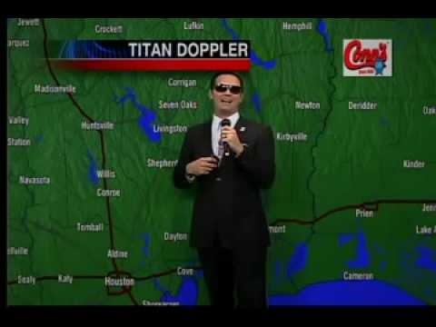 The Rapping Weatherman's Fourth Live Weather Rap