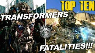 getlinkyoutube.com-TOP 10 Fatalities in the Transformers Live Action films