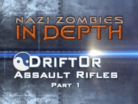 Nazi Zombies In Depth Ep7 - Assault Rifles Part 1 (G11, FN FAL, M14, and M16) by Drift0r