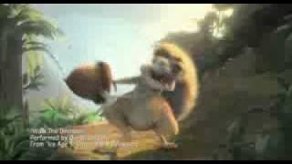 getlinkyoutube.com-La era de Hielo 3 Clip musikal-'Walk the dinosaur'-baile del dinosaurio